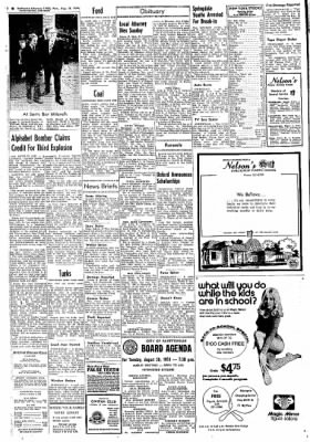 Northwest Arkansas Times from Fayetteville, Arkansas on August 19, 1974 · Page 2