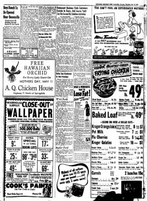 Northwest Arkansas Times from Fayetteville, Arkansas on May 8, 1952 · Page 15