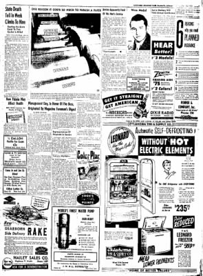Northwest Arkansas Times from Fayetteville, Arkansas on May 26, 1952 · Page 7