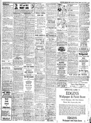 Northwest Arkansas Times from Fayetteville, Arkansas on June 10, 1952 · Page 11