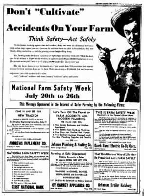 Northwest Arkansas Times from Fayetteville, Arkansas on July 19, 1952 · Page 5