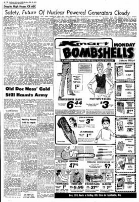 Northwest Arkansas Times from Fayetteville, Arkansas on October 13, 1974 · Page 54