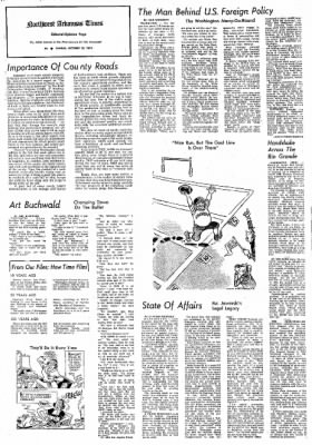 Northwest Arkansas Times from Fayetteville, Arkansas on October 20, 1974 · Page 4