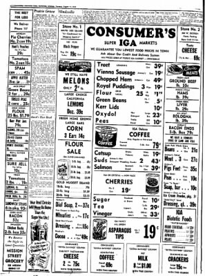 Northwest Arkansas Times from Fayetteville, Arkansas on August 14, 1952 · Page 6
