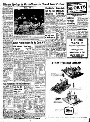 Northwest Arkansas Times from Fayetteville, Arkansas on August 27, 1952 · Page 7