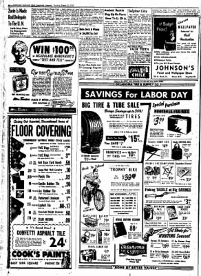 Northwest Arkansas Times from Fayetteville, Arkansas on August 28, 1952 · Page 6