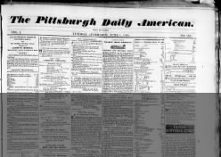 Pittsburgh Daily American