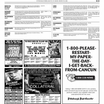 Pittsburgh Post-Gazette from Pittsburgh, Pennsylvania on August 20, 2004 · Page 78