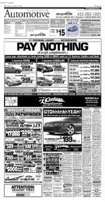 Pittsburgh Post-Gazette from Pittsburgh, Pennsylvania on October 24, 2004 · Page 58