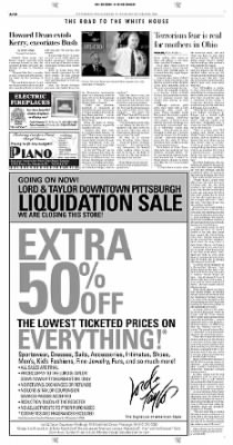 Pittsburgh Post-Gazette from Pittsburgh, Pennsylvania on October 28, 2004 · Page 2
