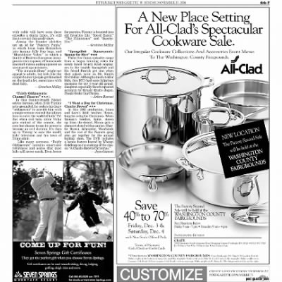 Pittsburgh Post-Gazette from Pittsburgh, Pennsylvania on November 21, 2004 · Page 96