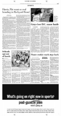 Pittsburgh Post-Gazette from Pittsburgh, Pennsylvania on November 23, 2004 · Page 33