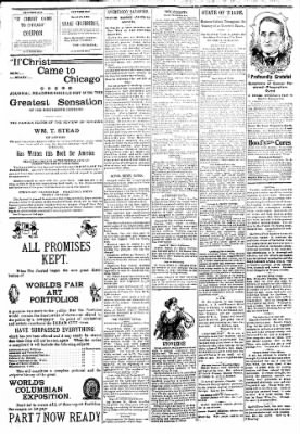 Logansport Pharos-Tribune from Logansport, Indiana on March 25, 1894 · Page 2