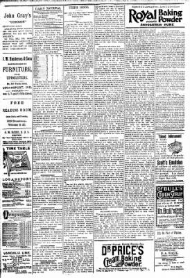 Logansport Pharos-Tribune from Logansport, Indiana on April 1, 1894 · Page 4