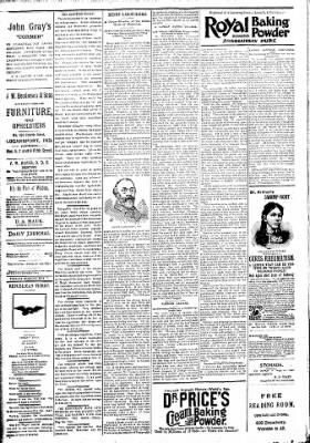 Logansport Pharos-Tribune from Logansport, Indiana on May 1, 1894 · Page 4