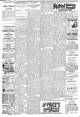 Logansport Pharos-Tribune from Logansport, Indiana on May 6, 1894 · Page 4